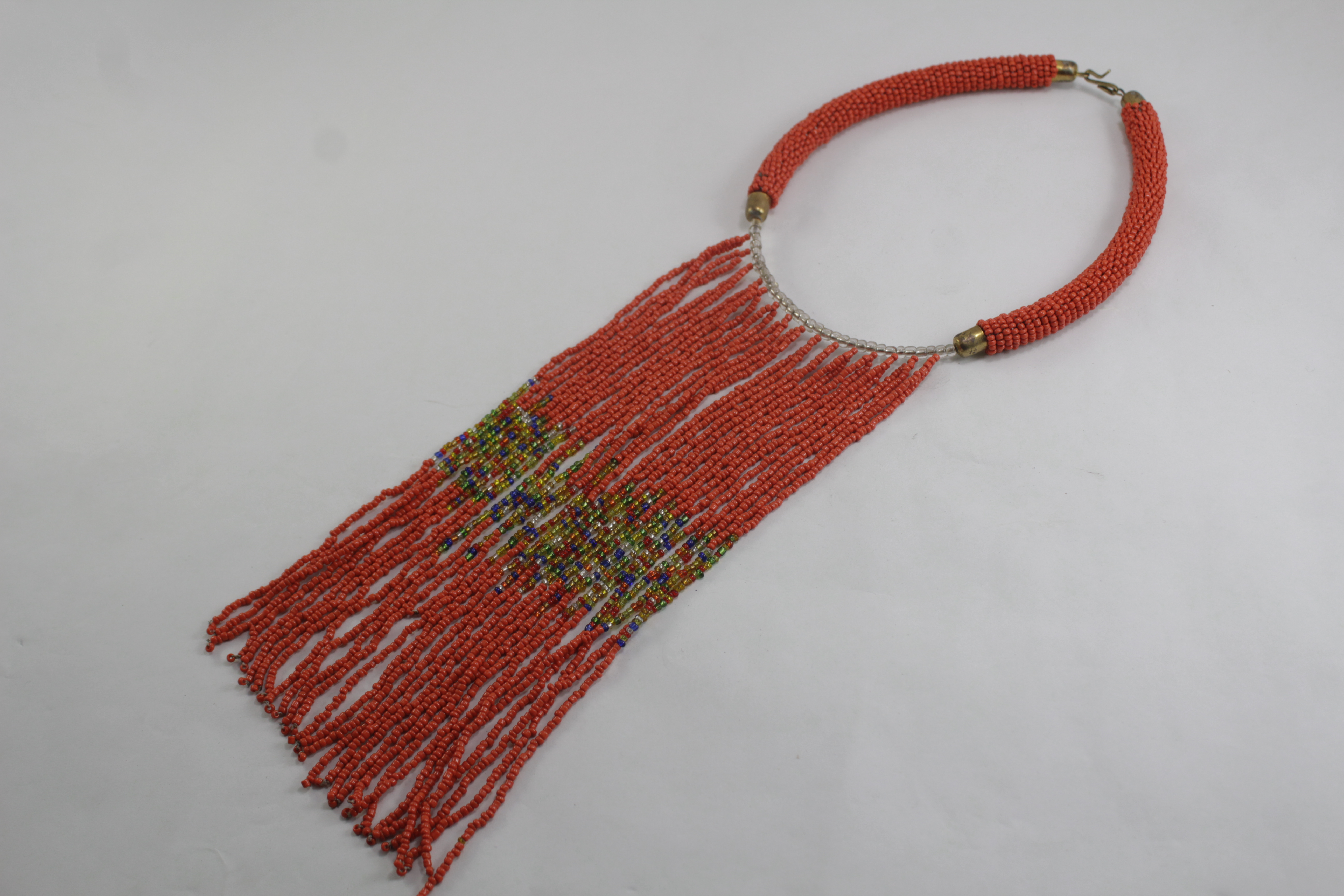 long strand beaded necklace