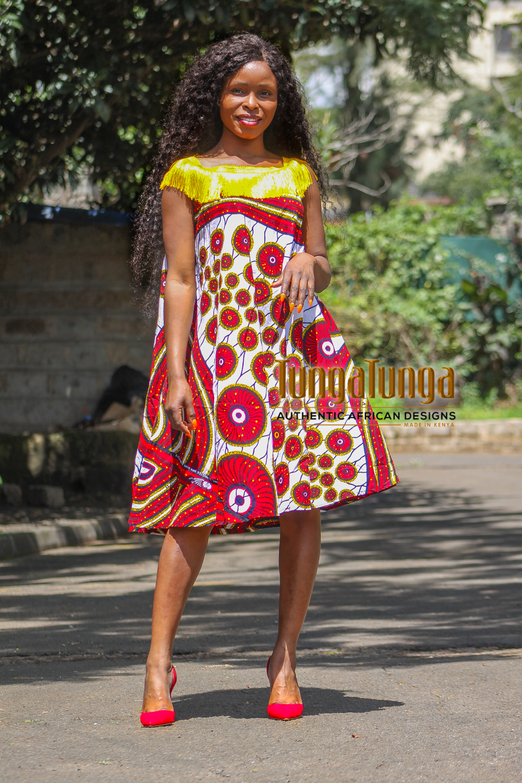 Fringe Layered Dress
